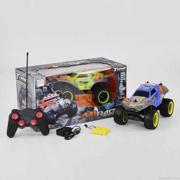 Джип 1333-2 А (12) 2 цвета, р/у, на аккум. 4.8V, резиновые колеса, в коробке