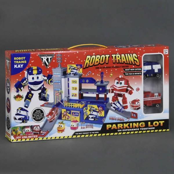 "Гараж ZY 647 (36/2) ""Robot Trains"""