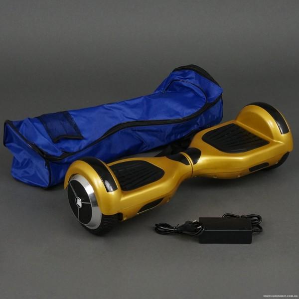 Гіроскутер А 3-4 / 772-А3-4 Classic (1) ЗОЛОТИЙ, колеса діаметром 6,5 дюймів, Bluetooth, СВІТЛО, в сумці