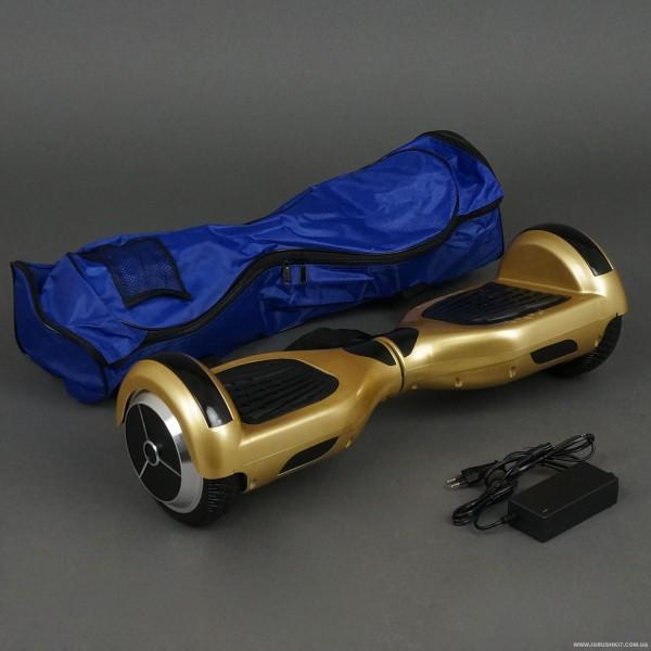 Гироскутер А 3-4 / 772-А3-4 Classic (1) ЗОЛОТИСТЫЙ, колеса диаметром 6,5 дюймов, Bluetooth, СВЕТ, в сумке