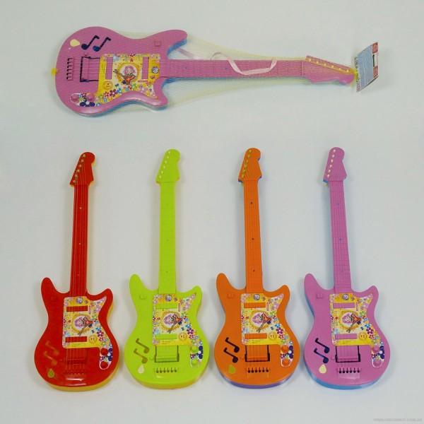 """Гитара мал. 5095 (33) 4 вида, в сетке """"МАКСИМУС"""""""