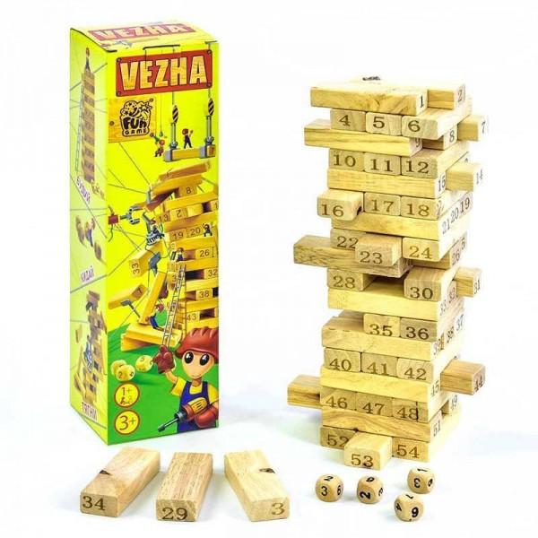 """Игра деревянная """"Башня"""" 7358"""