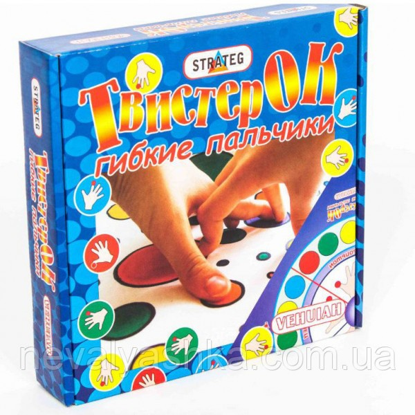 "Игра ""Твистер ОК"" гибкий пальчики 730"