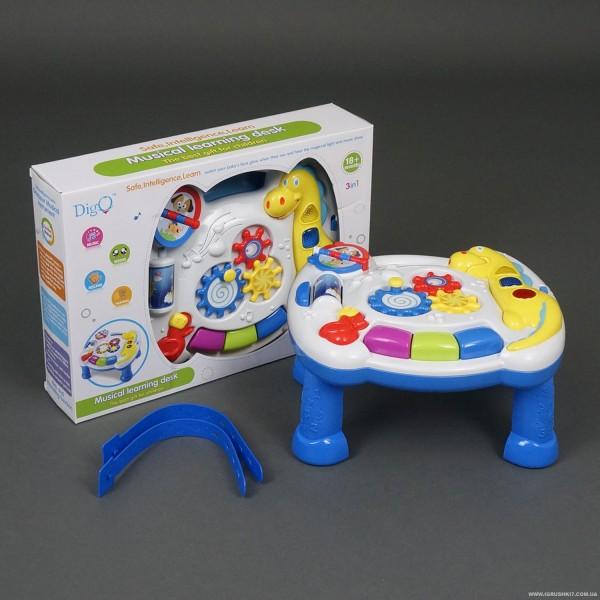 """Игровой музыкальный столик WD 3628 """"Динозавр"""" (24/2)"""