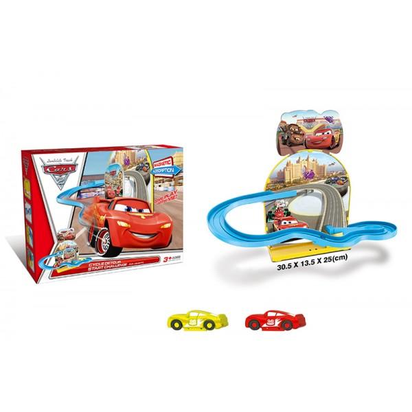 Игровой набор CARS 3 8833A (72шт/2) в коробке 30, 5*13, 5*25см