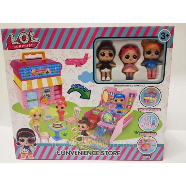 """Игровой набор с куклами """"LOL"""" 560"""