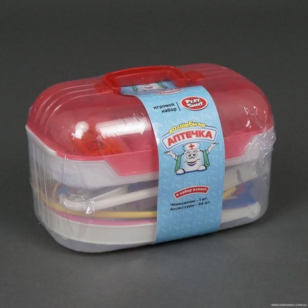 """JT Доктор 2552 """"Чарівна аптечка"""" (24/2) 35 предметів, у валізі"""