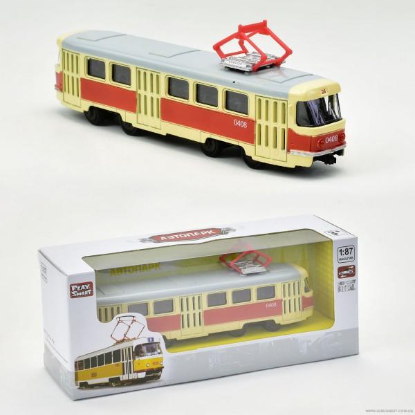 JT Трамвай металлопластик 6411 А (96/4)
