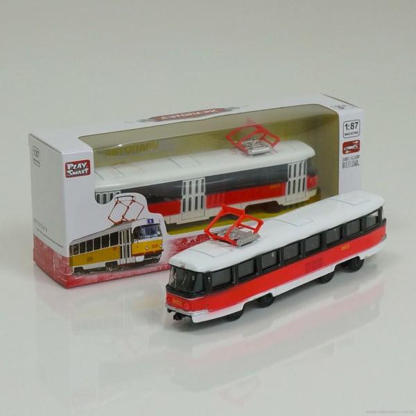 JT Трамвай металлопластик 6411 D (96/4)