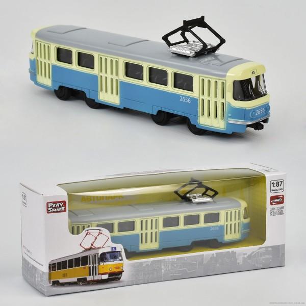 JT Трамвай металлопластик 6411 С (96/4)