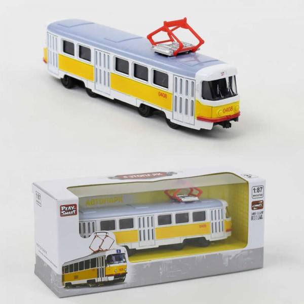 JT Трамвай металлопластик 6411 В (96/4)