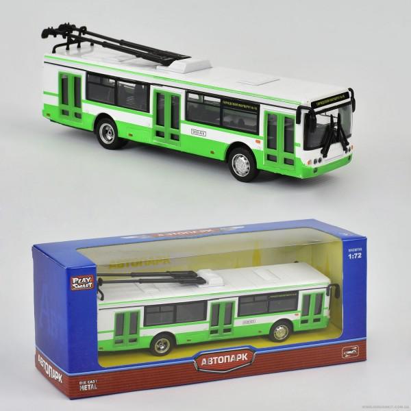JT Троллейбус металлопластик 6407 А (96/4)