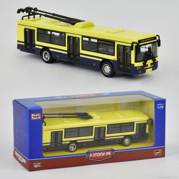 JT Троллейбус металлопластик 6407 D (96/4)