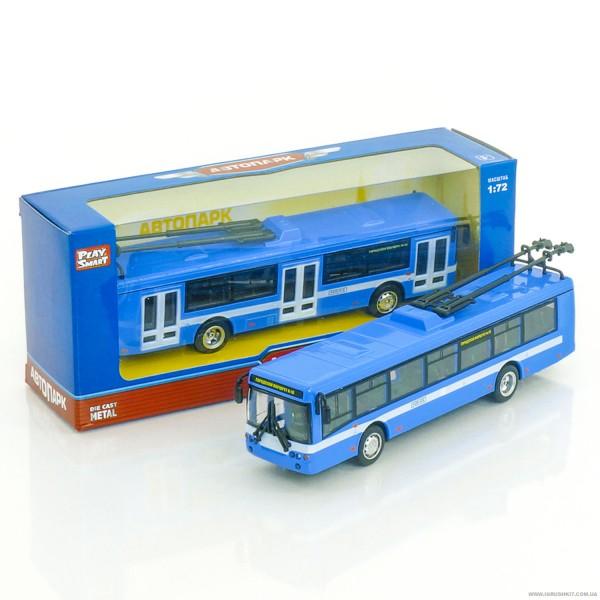 JT Троллейбус металлопластик 6407 В (96/4)