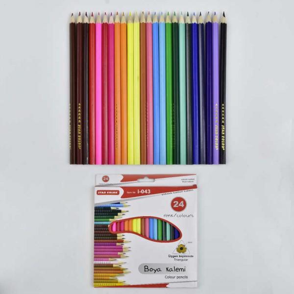 Карандаши цветные 0681 (120)