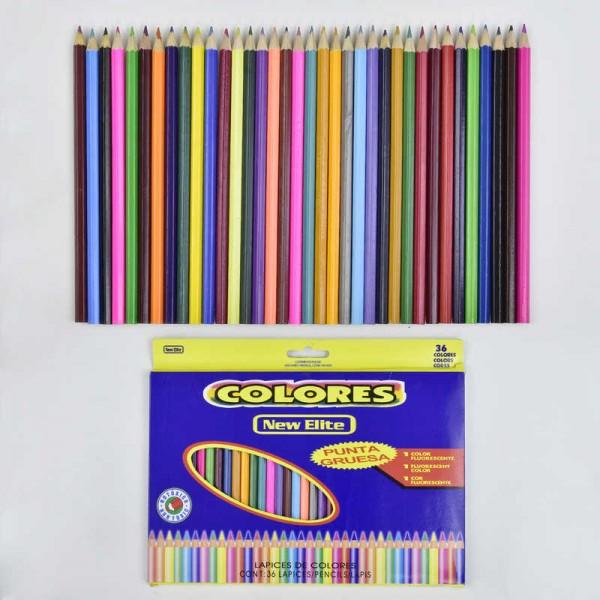 Карандаши цветные 0684 (80)