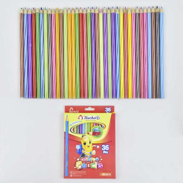 Карандаши цветные 0692 (180)