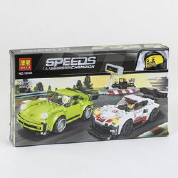 """Конструктор 10946 (36/2) Bela Speeds Champion """"Гоночные автомобили"""""""