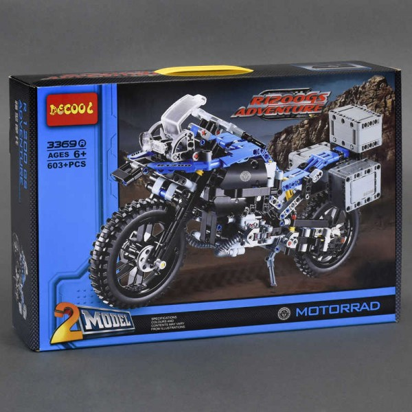 "Конструктор 3369 А (12/2) ""Мотоцикл"""
