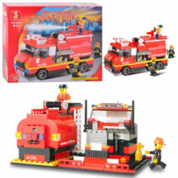 """Конструктор SLUBAN """"Пожарные спасатели"""" M38-B0220"""
