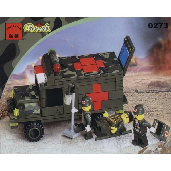 """Конструктор """"Brick"""" """"Военная медицинская помощь"""" 0273"""