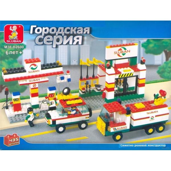 """Конструктор """"Городской Транспорт"""" 435дет., M38-B2600 (287120R)"""