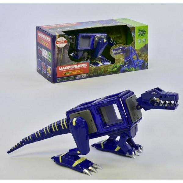 """Конструктор магнитный """"Динозавр"""" LQ624"""