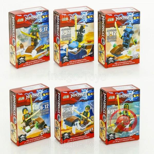 "Конструктор ""Ninjago"" 3D, 35901-35906H"