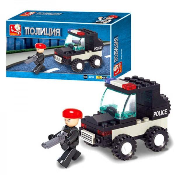 """Конструктор SLUBAN """"Полиция"""" 45 дет M38-B700"""