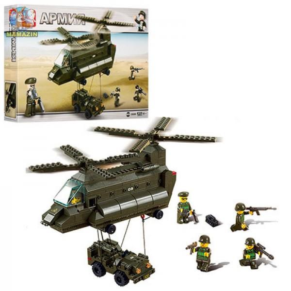 """Конструктор SLUBAN """"Сухопутные войска"""", 370 дет M38-B6600R"""