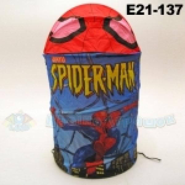 "Корзина для игрушек ""Спайдермен"" E21-137"
