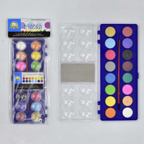 Краски акварельные для рисования 2316/555-535 (144)