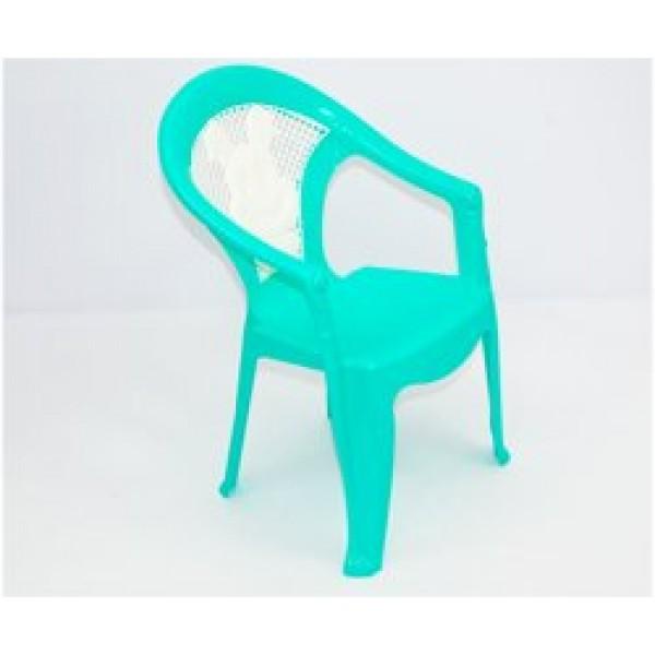 """Кресло детское №1 (10) - цвет бирюзовый """"K-PLAST"""""""