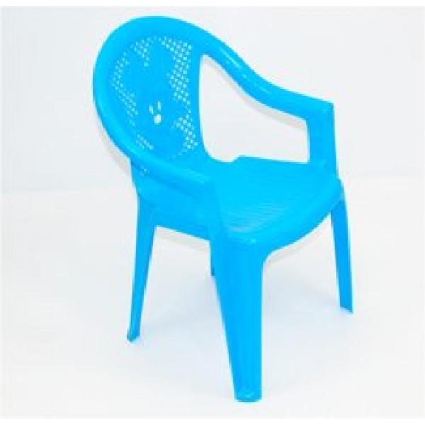 """Кресло детское №2 (10) - цвет голубой """"K-PLAST"""""""