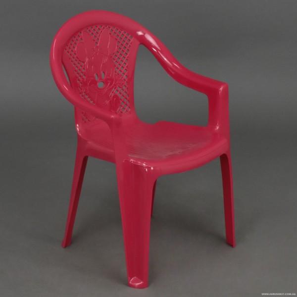"""Кресло детское №2 (10) - цвет малиновый """"K-PLAST"""""""