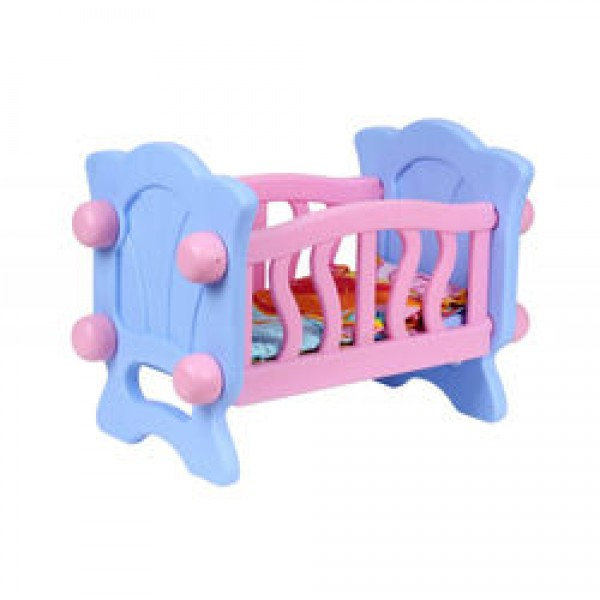 "Кроватка для куклы 4166 (4) ""ТЕХНОК"""