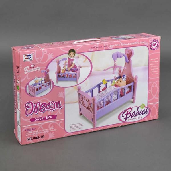 Кроватка для кукол 008-10 (12)