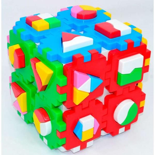 """Куб """"Умный малыш Супер логика"""" 2650 (6) """"ТЕХНОК"""""""