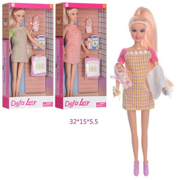 "Кукла ""Defa Lucy""Беременная"" 8357"