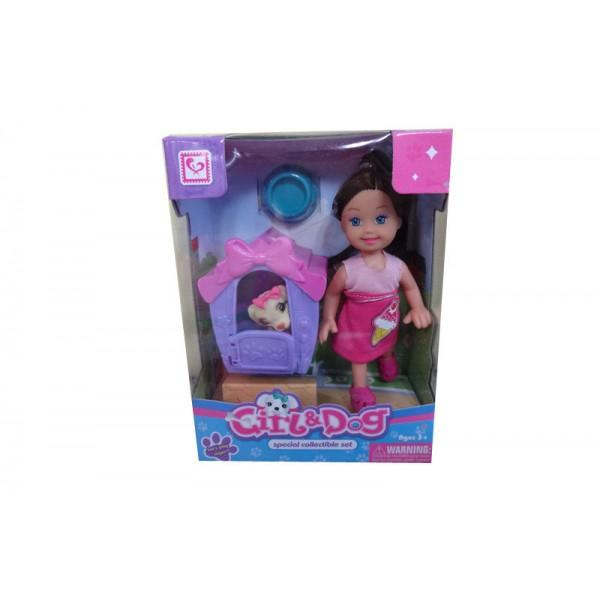 Кукла маленькая с домиком K899-20 (HWA1079088)