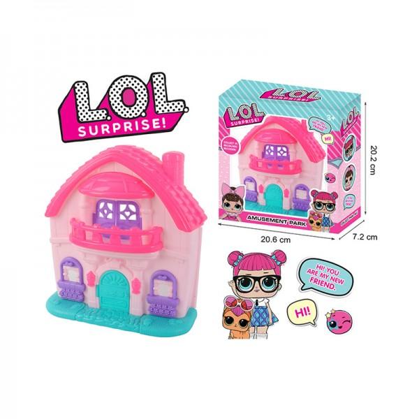 Кукла с домиком 553-315