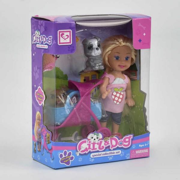 Кукла с коляской К 899-19 (192/2)