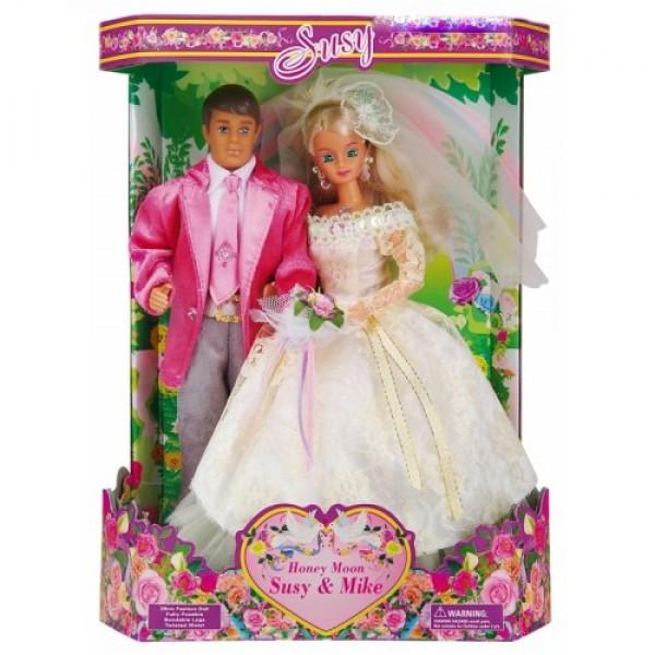 """Кукла """"Susy"""" """"Жених и Невеста"""" с маленькой куклой 2703"""