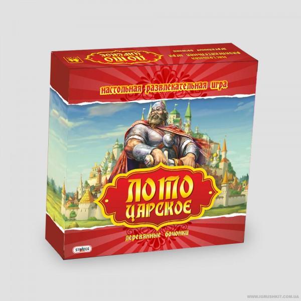 "Лото деревянное ""Царское"" 1002 (5) ""STRATEG"""