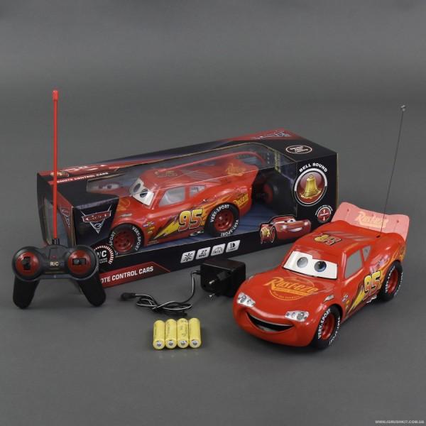 "Машина 17616-2 С ""Тачки"" (24/2) р/у, на батарейках, свет фар, в коробке"