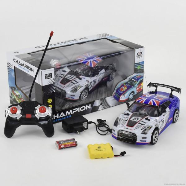 Машина 333 - Р023 (24) р/у, на аккумуляторе, в коробке