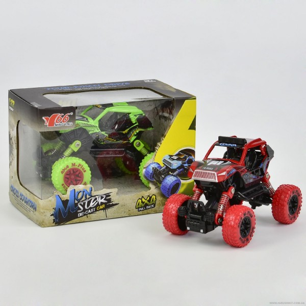 Машина металлопластик MY66-Y 1106 (72) 2 вида, 1шт в коробке