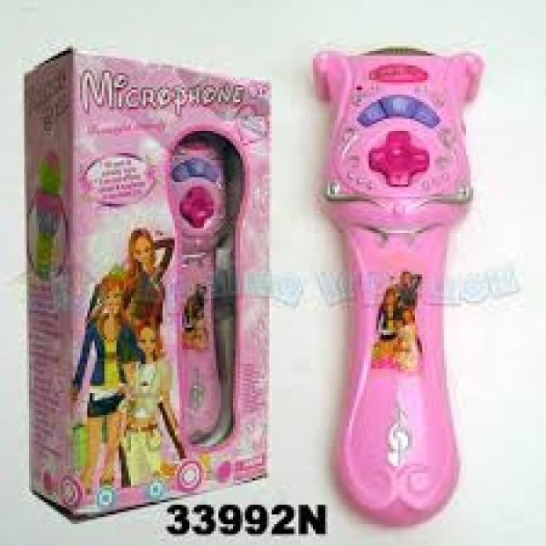"""Микрофон """"Принцесса"""" 33992N"""