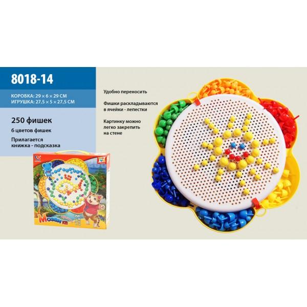 Мозаика 250 фишек 8018-14