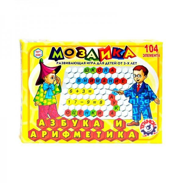 """Мозаика """"Азбука + Арифметика"""" 2087 (10) """"ТЕХНОК"""""""